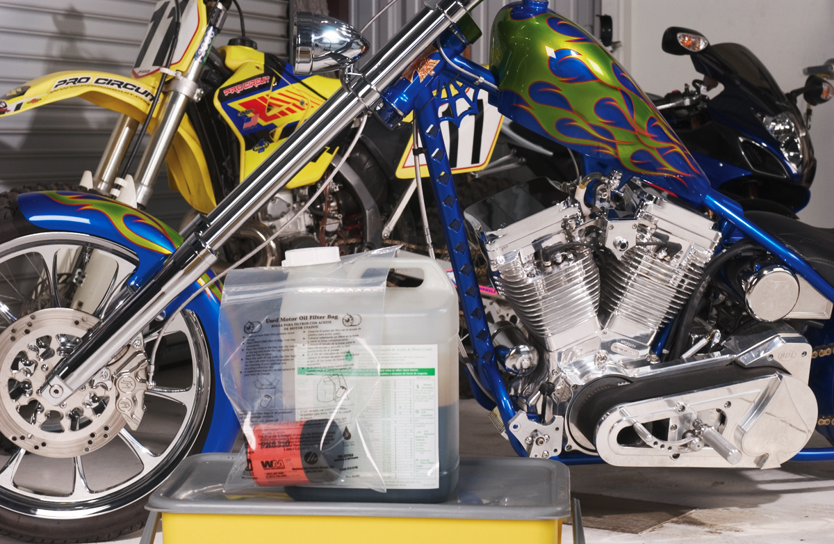RidersRecycle com Blog | How to Recycle Used Oil and Filters