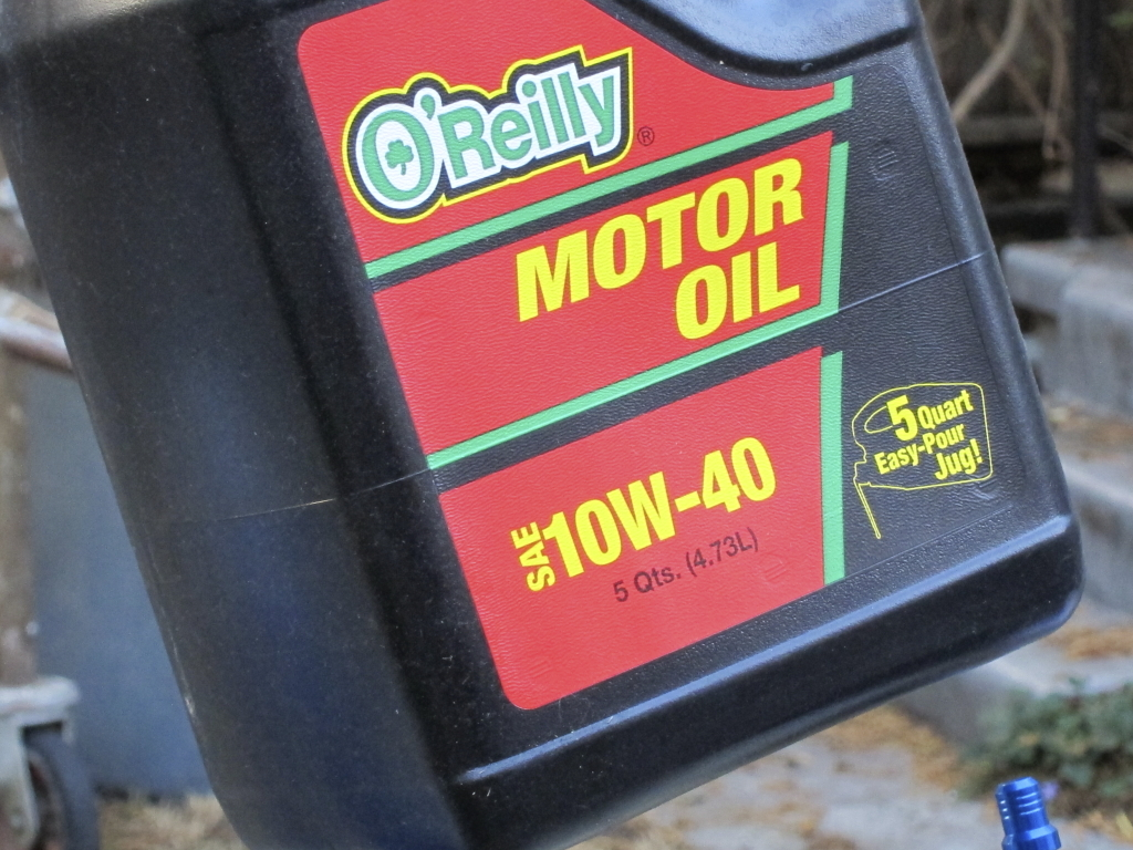 Conventional 10w40 oil